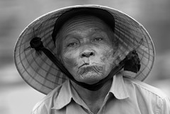 Smoke (SLpixeLS) Tags: street portrait people blackandwhite man asia noiretblanc smoking vietnam hoian asie rue homme fumer fume personnage bwemotions aplusphoto platinumheartaward worldwide travelogue