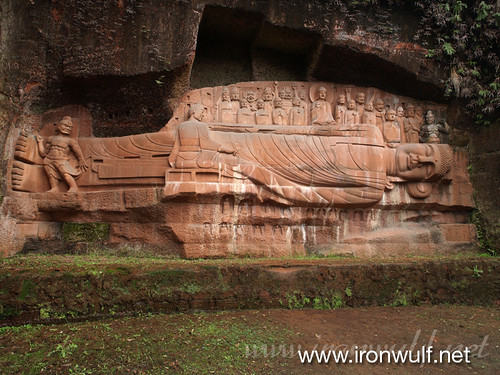 The Sleeping Buddha in Anyue County