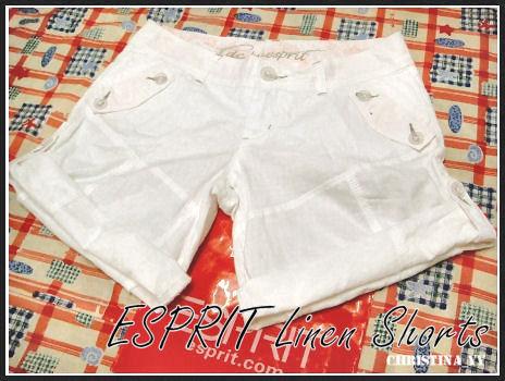 DFO Brisbane: ESPRIT Linen Shorts