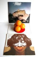Oranges and Lennons (Rongem Boyo) Tags: records canon 350d vinyl albums imagine beatles oranges lennon 33rpm wallsandbridges