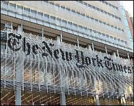 El edificio del New York Times