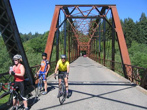 Bridge over the Russian River, Sonoma