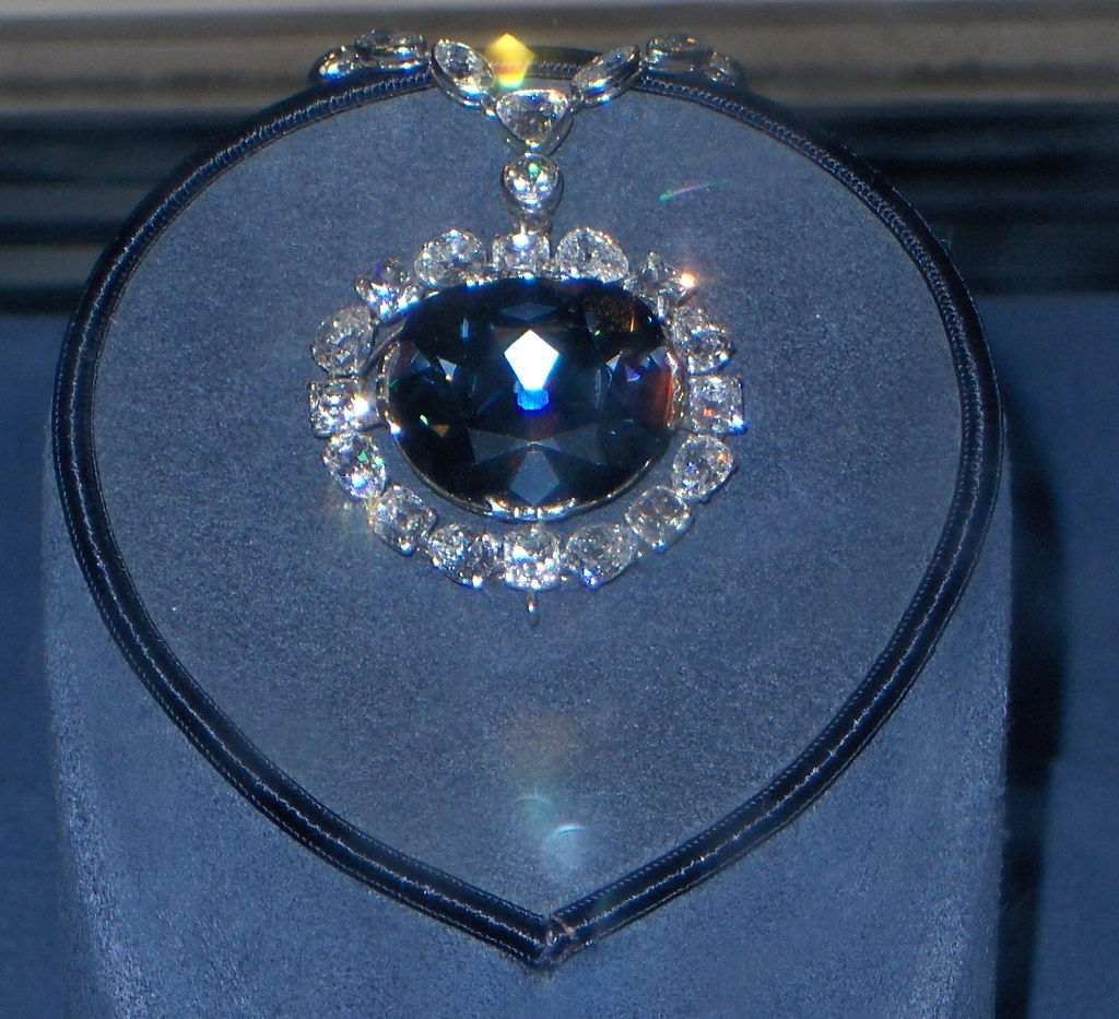 The Hope Diamond!  Museum of Natural History, Washington D.C.