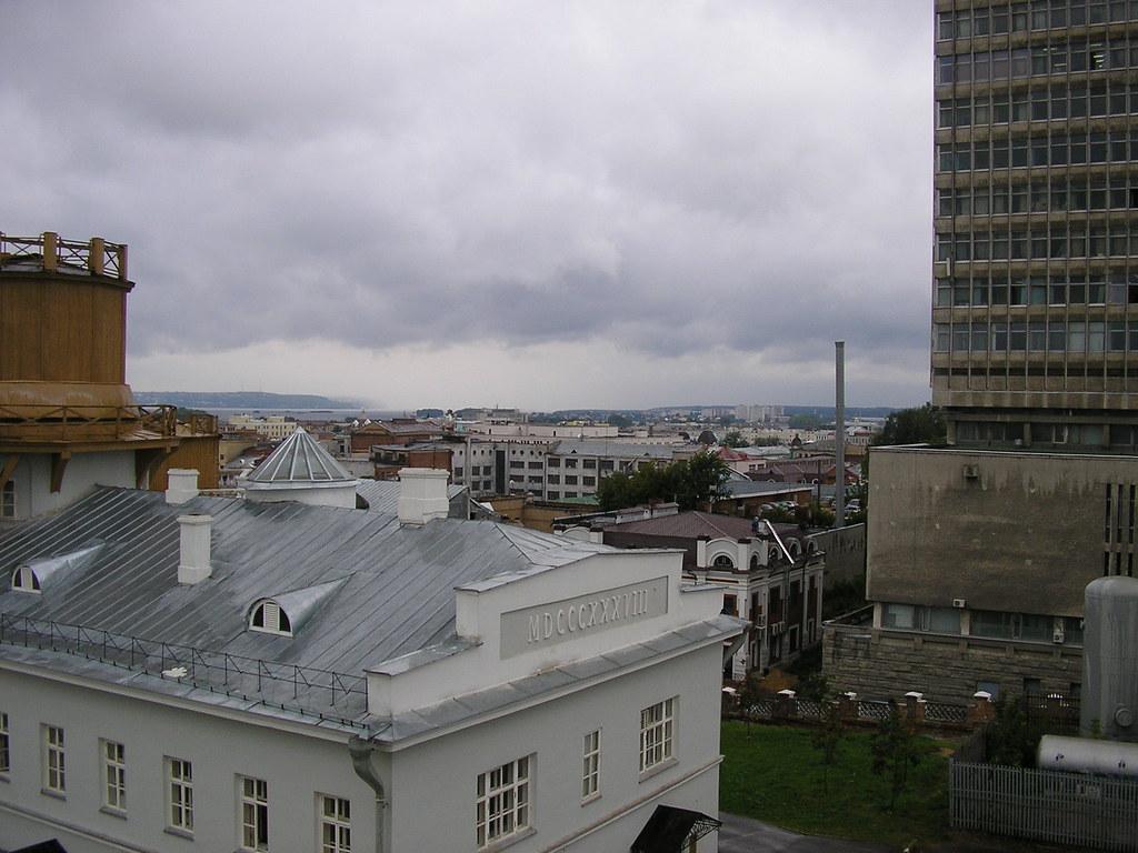фото: view of Kazan from Kazan State University