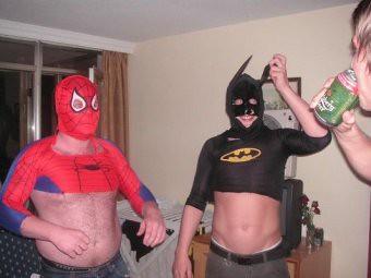 Batman y Spiderman