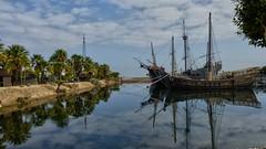 ESPEJO (abuelamalia49) Tags: puerto naves palmeras espejo carabelas
