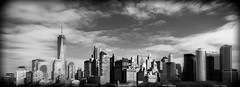 Lower Manhattan (mdavies149) Tags: manhattan newyork lowermanhattan america cityscape buildings city black white clouds blackandwhite michaeldavies nikon d600 clickcamera