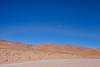 Blue sky with moon. (david takes photos) Tags: losflamencosnationalreserve reservanacionallosflamencos atacama chile x
