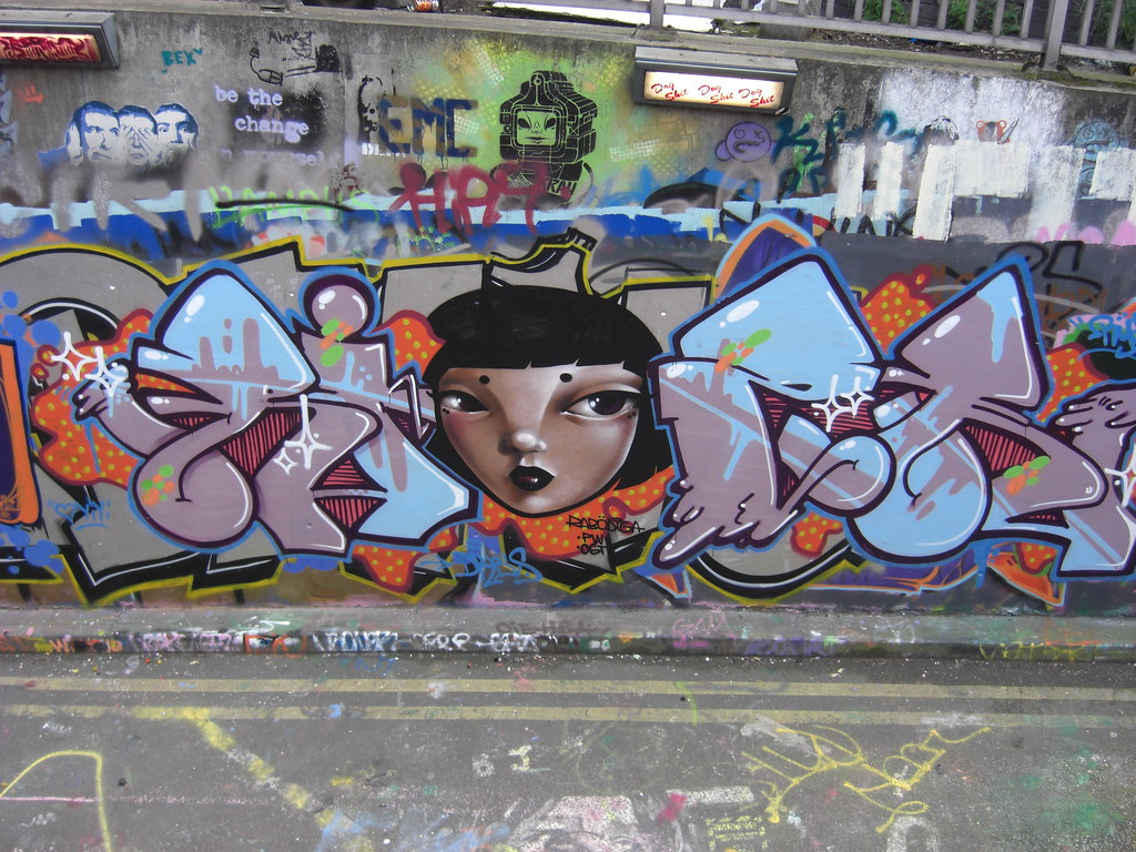 RYZE RABODIGA JOHN19701970 Tags City Uk England Urban Woman Streetart Colour London Art