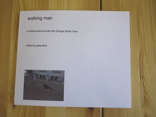 walking man - a self-portrait collaboration with Google Street View