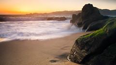 Rush (| kandrus |) Tags: ocean sanfrancisco longexposure sunset sea orange water sand nikon francisco surf filter filters franciscomorning d7000 filtersnikon nikond7000