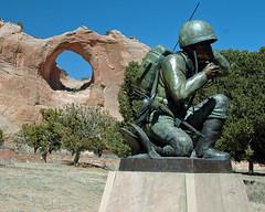 Code Talker (Woody H1) Tags: park arizona west memorial nikond70 indians navajo nativeamericans veterans codetalker arizonapassages