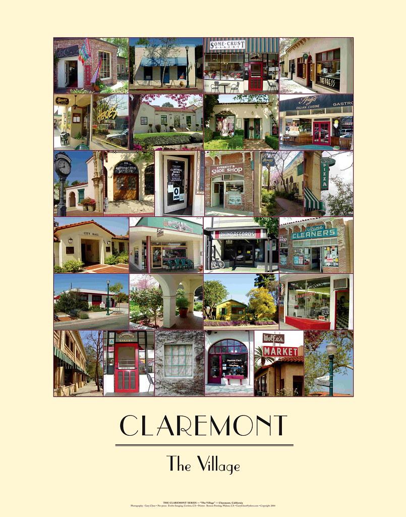 CLAREMONT - The Village   California