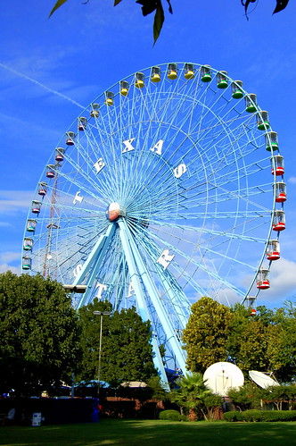 Texas Star Ferris Wheel at Fair Park