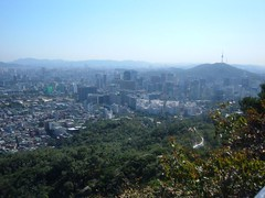 Promenade sur l'Inwangsan (jo_la_star) Tags: seoul coree