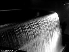 """Waterfall"" #2 Guinness Storehouse -Dublin- (Kalispera2007) Tags: ireland bw dublin water blackwhite waterfall eau bn guinness bier acqua birra bianconero dublino irlanda cascata guinnessstorehouse fabbrica"
