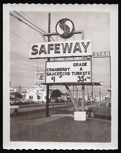 Safeway Supermarket, 1960s