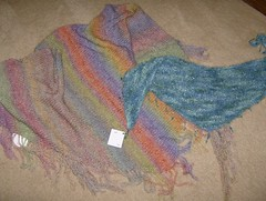 shawl and shawlette