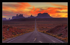 Monument Valley Sunset @ Mile Marker 13 (Mellard) Tags: road sunset landscape utah highway bravo scenic explore monumentvalley hdr 7xp flickrsbest mywinners goldenphotographer diamondclassphotographer flickrdiamond mellard flickrslegend