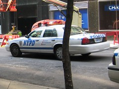 NYPD Car w/ Coffee Cup (buff_wannabe) Tags: boss cup coffee humorous police nypd cop policecar unusual nypdnyc