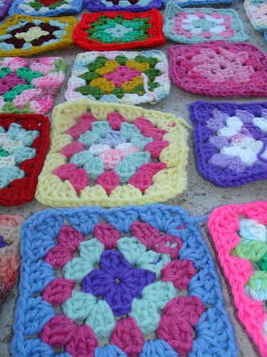 70s granny squares