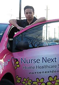 Ken Sim is the co-founder and director of Nurse Next Door.