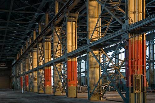 Sunlit Columns