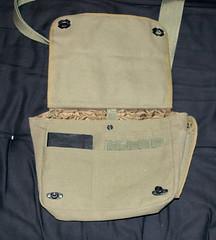 Field Bag - Flap Open