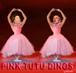 Pink Tutu DINOs Nancy N Harry