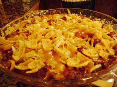Maureen'd frito pie
