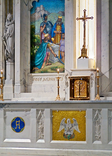 Saint Elizabeth, Mother of John the Baptist Roman Catholic Church in Saint Louis, Missouri, USA - tabernacle 1
