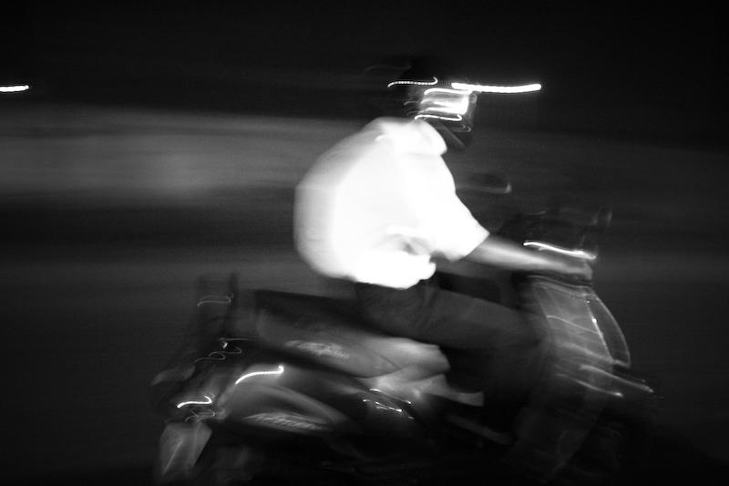 Scooting around in Delhi