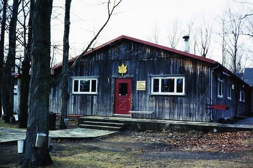 Paddock Café :: ケベックの砂糖小屋