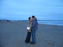aaah! (joannevc) Tags: christmas alnmouth 2007 beachnorthumberland