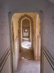 Hawa Mahal, hallway.