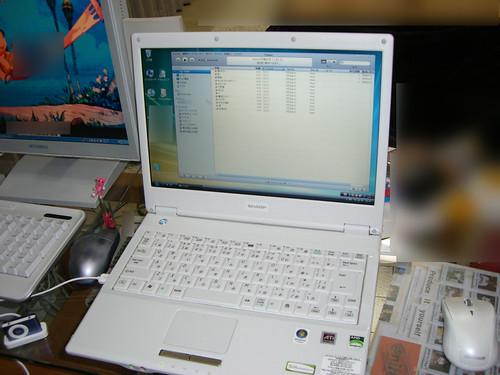Mebius PC-CW50V 起動