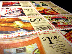 Coupons/ Credit: Flickr user sgrace