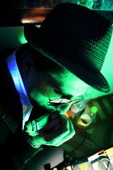 rolando is....a blues man! (Judy Morale) Tags: portrait people green torino persone rolando ritratto bluesman pinerolo sfide photoamatori villaprperosa mcb1801