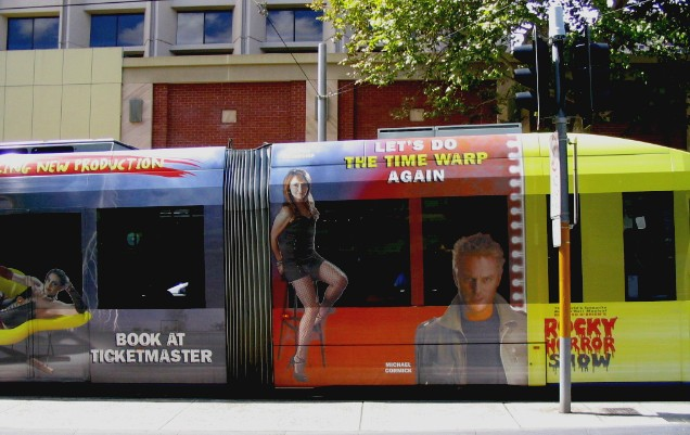 Rocky Horror Show tram