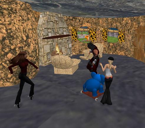 Dancing in Bedrock