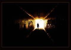 Light at the End (Robert Mynard) Tags: desktop city nikon tunnel brisbane drain cc creativecommons desolate d80 namic davidmynard robertmynard