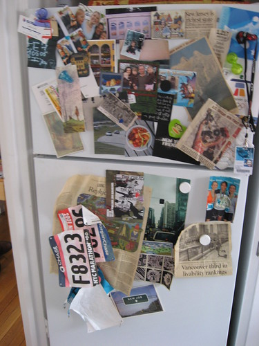 Fridge Collage, March 2008 by you.