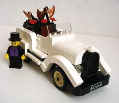 The Mad Hatter's Roadster