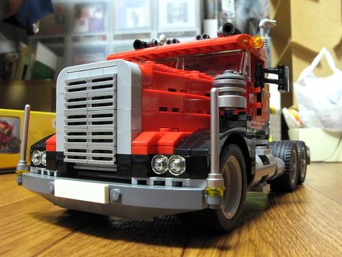 レゴクリエイター トラック 前面