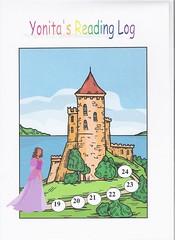 Yonita's Reading Chart