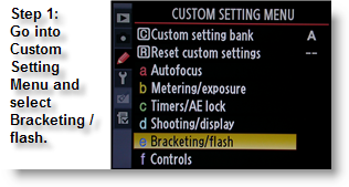 Activate Custom Setting Menu on the Nikon D300