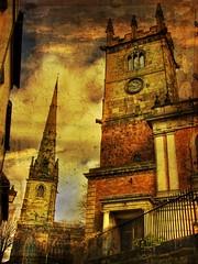 A Shrewsbury scene (Steel Steve) Tags: shropshire cathedral shrewsbury gmart themoulinrouge mywinners flickrplatinum goldenphotographer brillianteyejewel thegardenofzen alarecherchedutempperdu magicdonkeysbest