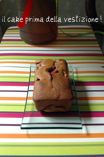 Cake alle fragole...prima del trucco!