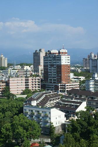 射日塔鳥瞰嘉義市