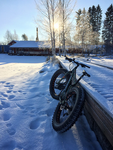 Winter Morning Fatbiking